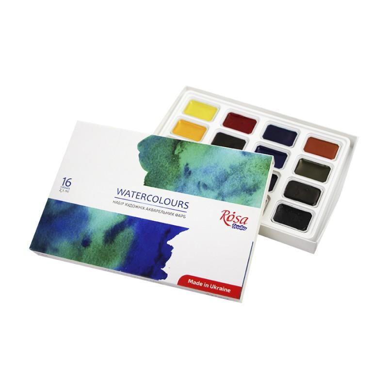 Набір гуашевих фарб ROSA Studio 9х20мл