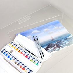 Папки для акварелі 20арк Дрібне зерно 200г/м2 А3/А4 ROSA Studio