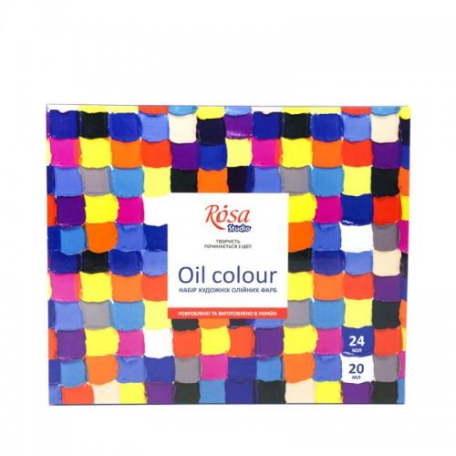 Oil paint set 24*20 ml, ROSA Studio