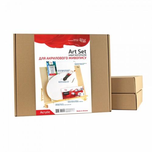 Набор материалов для акриловой живописи ROSA Studio