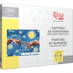 """""""Art"""", kit, painting by numbers, 35х45cm, ROSA START"""