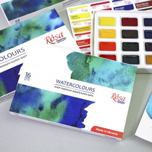 WATERCOLOURS ROSA Studio