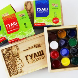 GOUACHE PAINTS ROSA Studio
