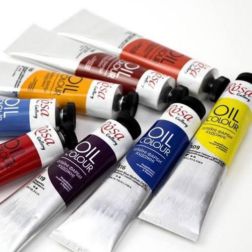 Художественные краски из натурального сырья