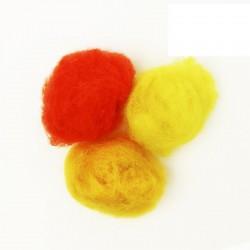 Set of wool for felting 3col.х10g ROSA TALENT