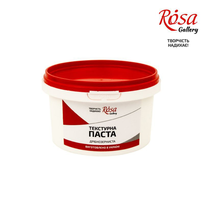 Textured paste fine-grained, ROSA Gallery