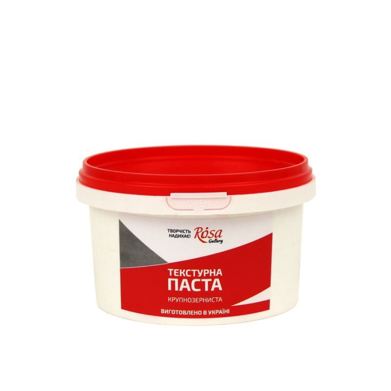 Textured paste coarse-grained, ROSA Gallery
