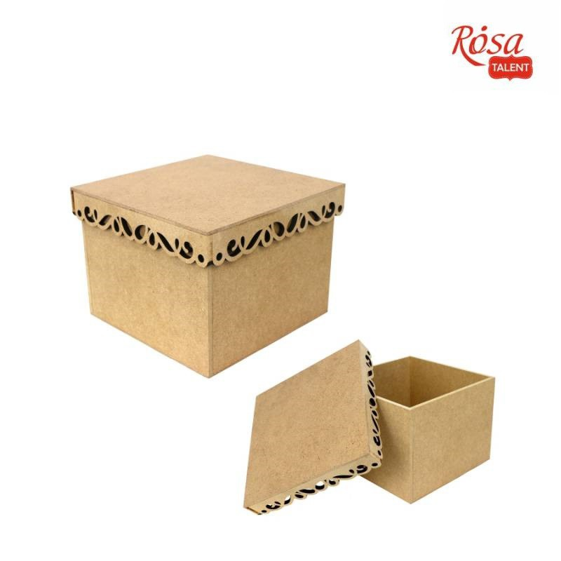 Bases for decoratoin Boxes MDF ROSA TALENT