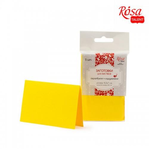 Набор заготовок для открыток 5 шт 10,3 * 7 см 220г / м2 ROSA TALENT
