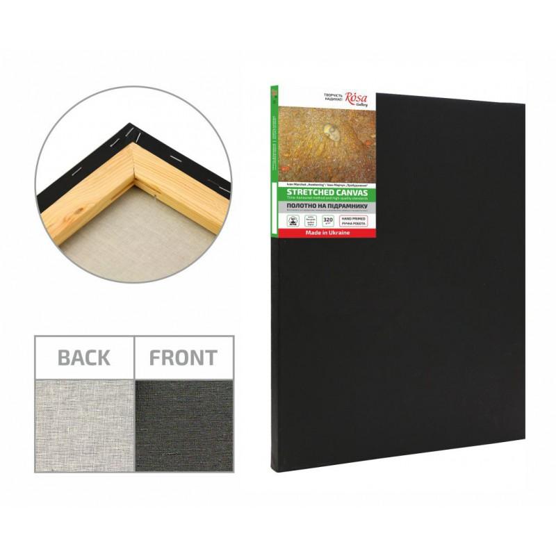 Stretched Canvas, extra fine grain, color prime, cotton ROSA Gallery