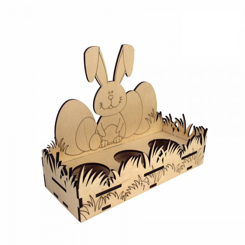 "Preparation of ""Easter Rabbit"" on the stand of MDF ROSA TALENT"