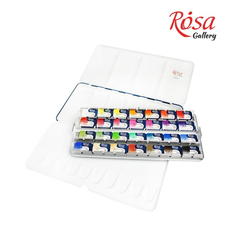 """Набір акварельних фарб """"Класика"""" 12 кольорів ROSA Gallery"""