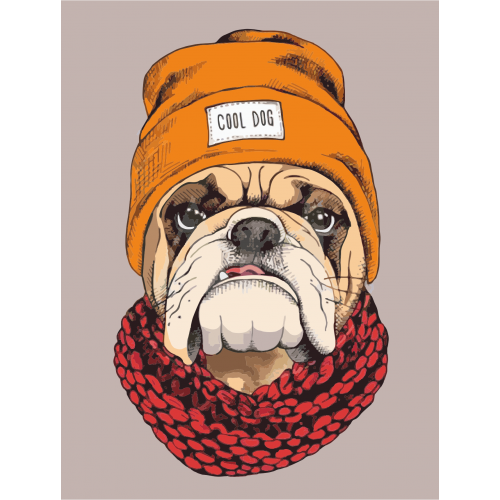 Pop Art Cool Dog