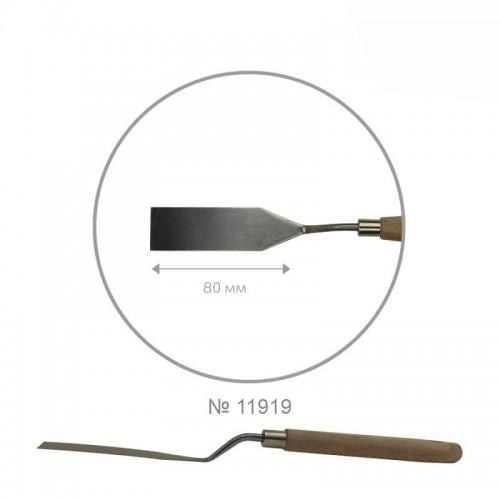 Palette knife ROSA Studio ArtWork №7 rectangular length 6,5sm