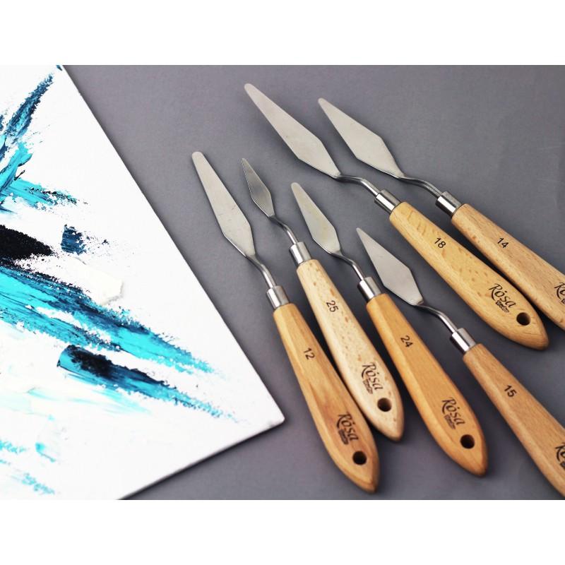 Palette Knife ROSA Studio 11918 rhombus, length 6,5 cm, st.kod1003