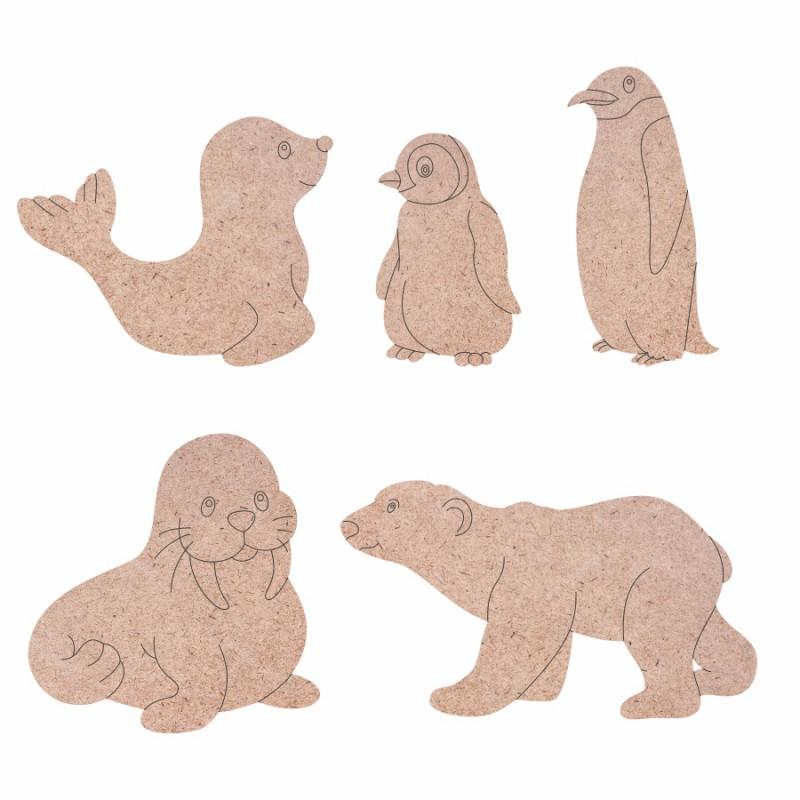 """Заготовка """"Пасхальный кролик"""" на подставке МДФ ROSA TALENT"""