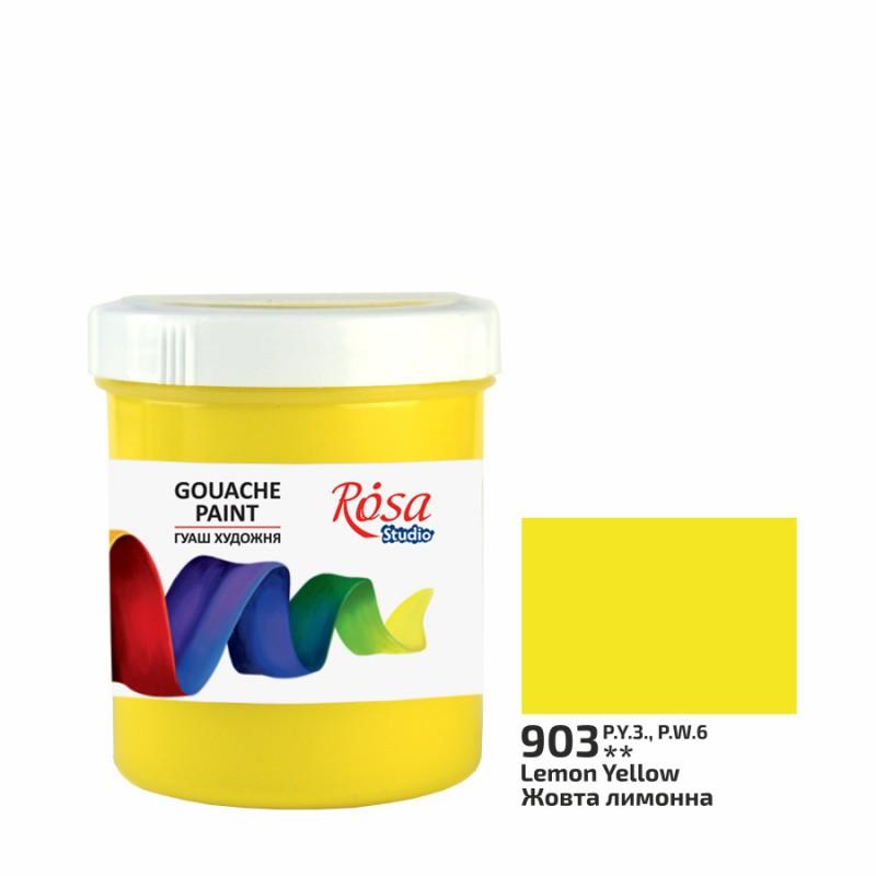Gouache paint 100ml ROSA Studio