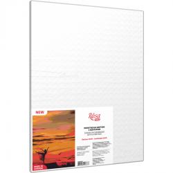 Пейзаж №40, полотно на картоні з контуром, 30х40, бавовна, акрил, ROSA START