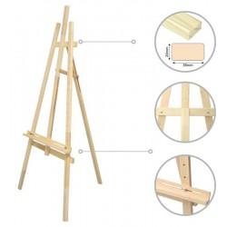 Presentation's easel №40 Lyr, рine 71х80х142см ROSA Studio