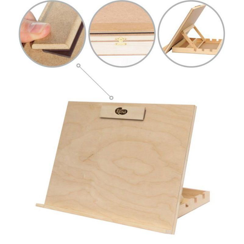 Easel-sketch board, tabletop, A3, plywood, ROSA Studio