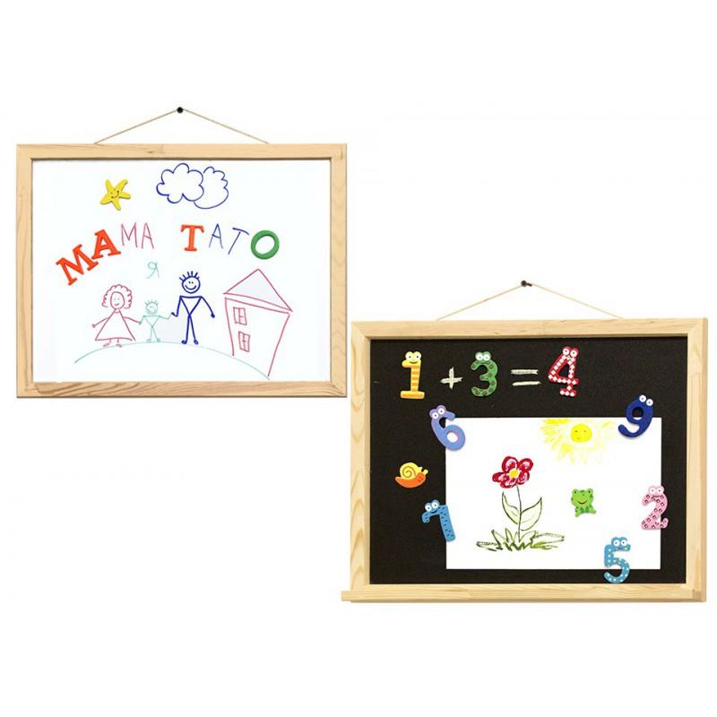 Boards Magnetic (chalk + marker), 40x50cm, pine, ROSA Studio