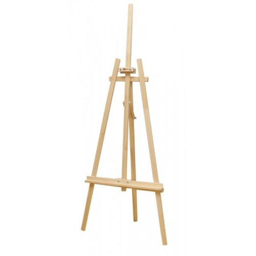 Studio easel №41 А, Lyra, pine, 71х80х170сm ROSA Studio