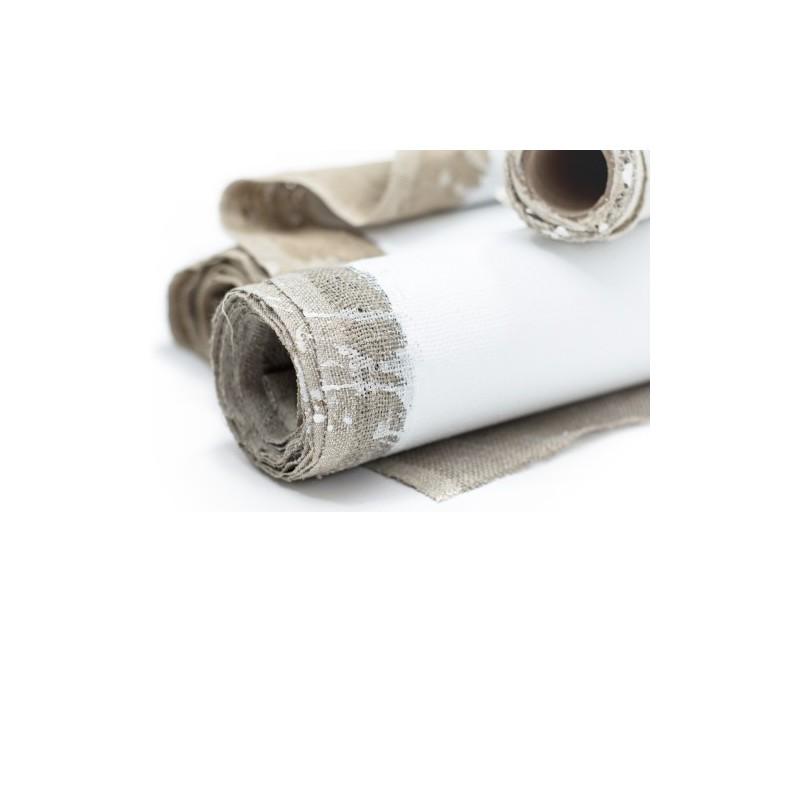Hand Primed Linen Canvas Rolls ROSA