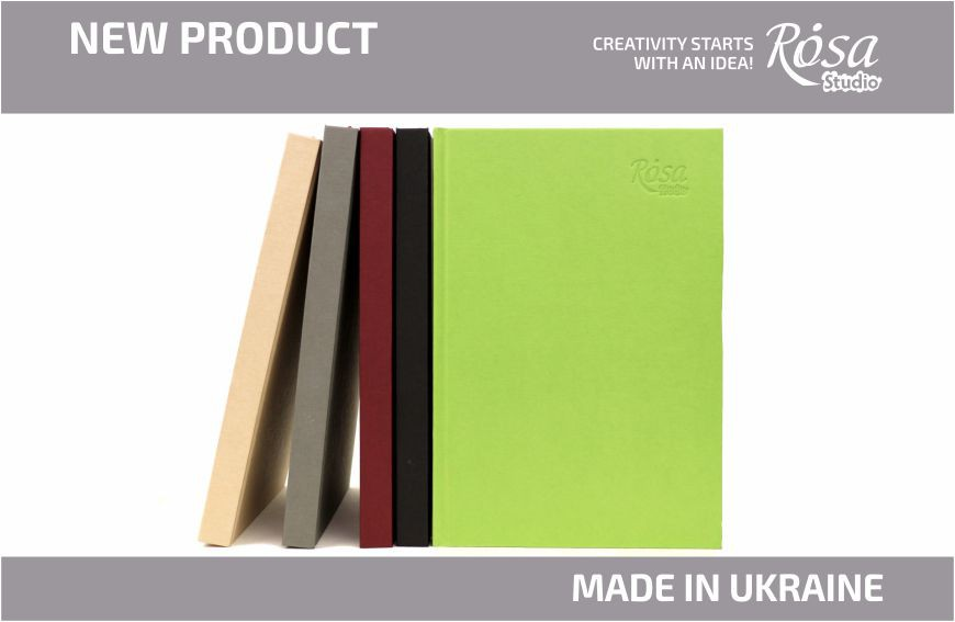 NEW: ROSA Studio Sketchbooks for drawing with new colored covers.