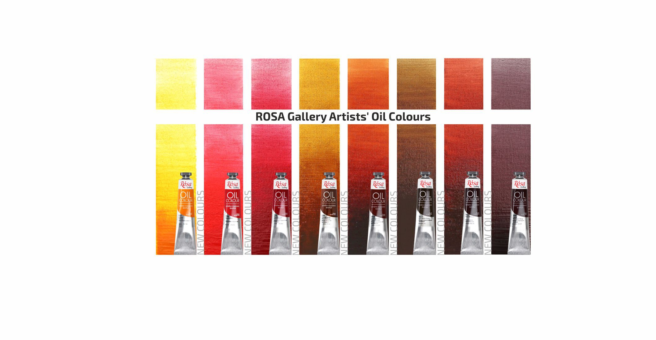 ROSA Gallery Artists' Oil Colours