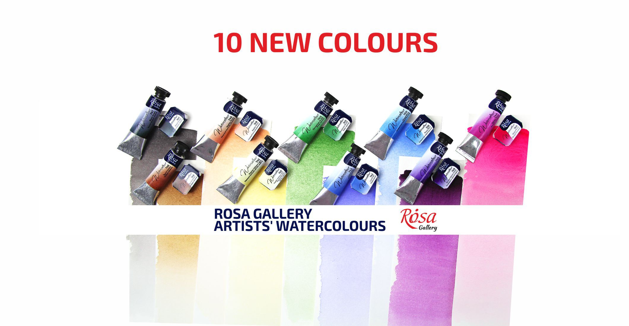 ROSA Gallery Artists' Watercolours